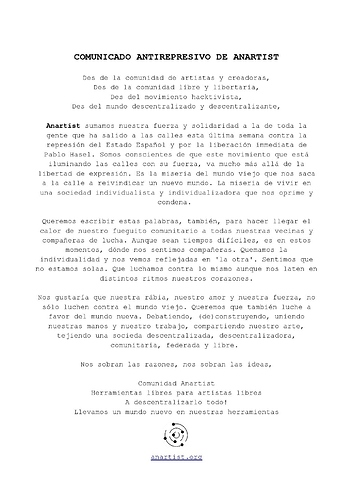 Comunicado Antirepresivo de Anartist-page-001